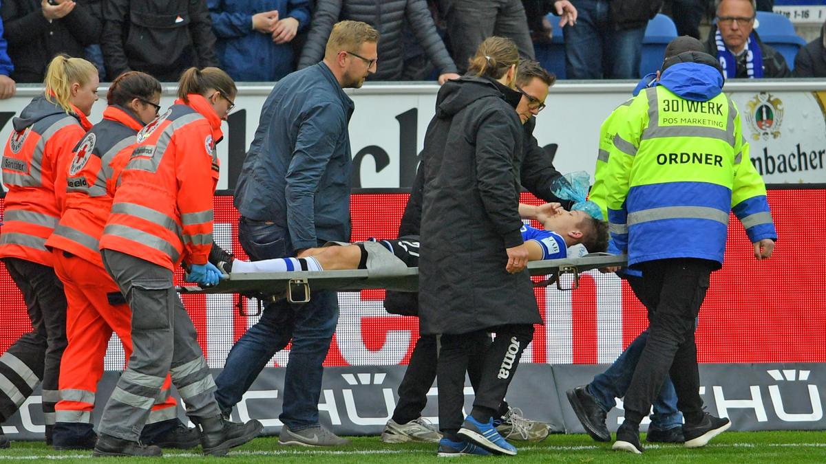 Saison-Aus für Bielefelds Cédric Brunner