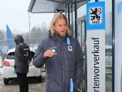 Christian Gytkjær trägt ab sofort die Farben des TSV 1860 München
