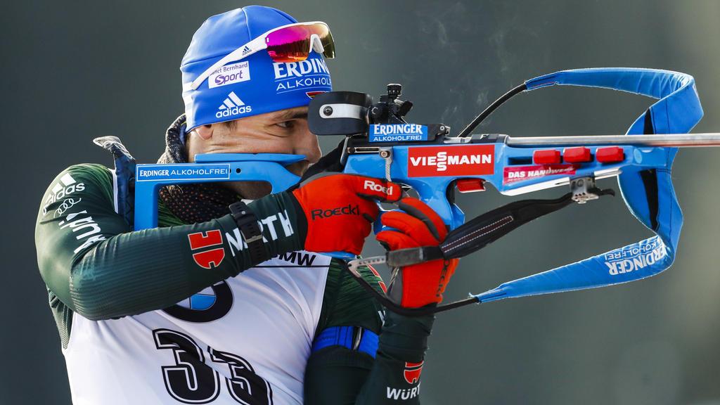 Biathlet Schempp hat mit zwei Titeln zum Auftakt der deutschen Biathlon-Meisterschaften ein gelungenes Comeback gefeiert
