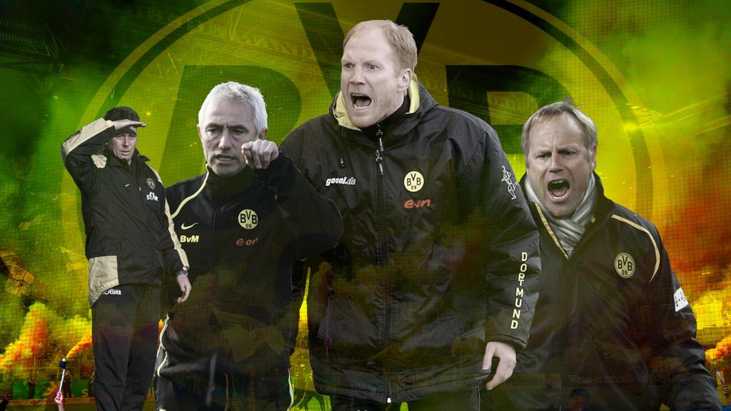 Wie erging es den ehemaligen Trainern des BVB?