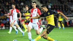 Achraf Hakimi war der Matchwinner des BVB in Prag