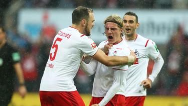 Der 1. FC Köln siegte gegen Paderborn