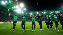 Gladbach feierte gegen den AS Rom einen späten Sieg