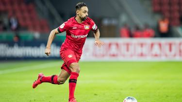Karim Bellarabi bleibt bis 2023 bei Bayer Leverkusen