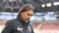 Martin Schmidt war beim FC Augsburg nur elf Monate im Amt