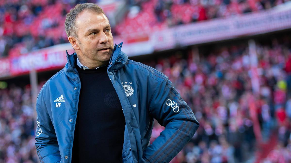 Der Vertrag von Hansi Flick beim FC Bayern läuft noch bis zum Saisonende
