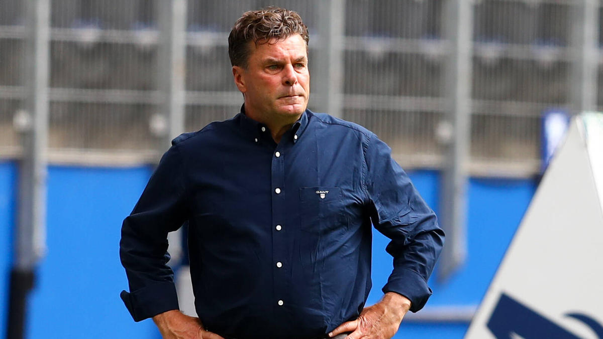 Nach nur einem Jahr ist für Dieter Hecking Schluss beim HSV