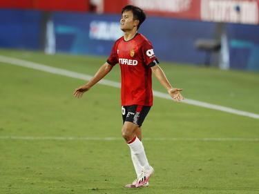 Kubo ha deslumbrado a la afición del Mallorca.