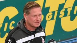 Markus Gisdol holte mit Köln ein Unentschieden in Stuttgart