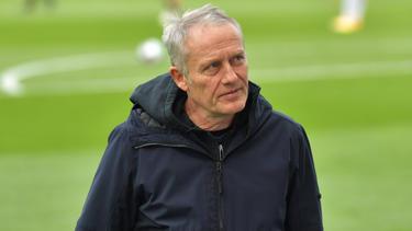 Mit dem SC Freiburg auf Talfahrt: Christian Streich