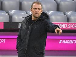 Hansi Flick will mit seinem Team die Siegesserie fortsetzen