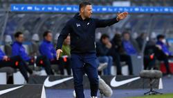 Pál Dárdai steckt mit Hertha BSC im Abstiegskampf