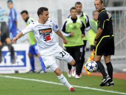 David Lafata im Trikot vom FK Jablonec