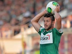 Oliver Kragl ist seit dieser Saison für den SV Ried am Ball
