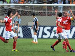 El Santa Fe dio la sorpresa al batir a Estudiantes en Copa Libertadores. (Foto: Getty)