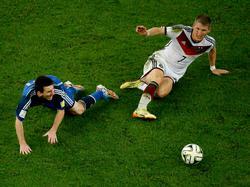Argentina y Alemania se vieron las caras en 2014 en Brasil.