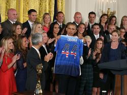 Obama empfängt die Weltmeisterinnen