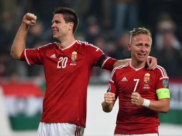El capitán húngaro hizo historia con su selección. (Foto: Getty)