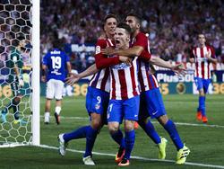 El Atlético no pudo ganar en el debut liguero en el Calderón. (Foto: Getty)