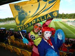 Australische Fans in Kazan