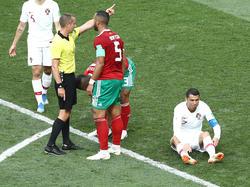 Schiedsrichter Mark Geiger steht im Kreuzfeuer der marokkanischen Kritiker