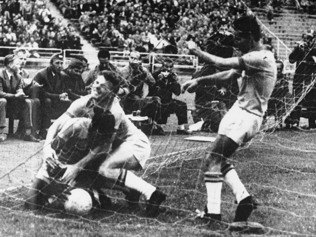 Brasilien gewann die WM 1958