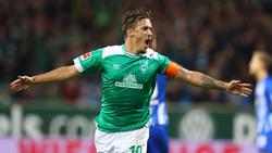 Max Kruse spielt seit 2016 für Werder Bremen