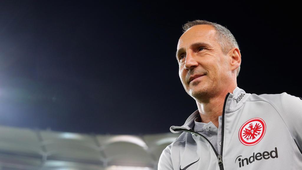 Adi Hütter stolz auf Siegesserie von Eintracht Frankfurt in der Europa League