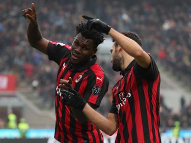 El Milan remontó ante su público y es 4º con 25 puntos. (Foto: Getty)