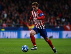 Atlético baut im Schlager gegen Barça auf Weltmeister Antoine Griezmann. © Getty Images/G. Arroyo Moreno