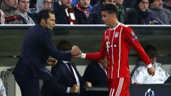 Hasan Salihamidzic hält nichts von einem Kauf-Verkauf-Szenario mit James Rodríguez