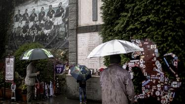 """Gedenkstätte auf dem Turiner Stadthügel """"Superga"""""""