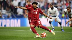 Traf vom Punkt: Mohamed Salah