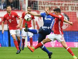 Holger Badstuber (blaues Trikot) trifft erneut auf seinen Heimatverein