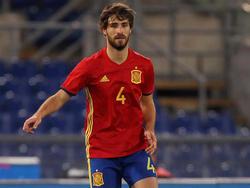 Yeray con la camiseta de la selección española Sub-21. (Foto: Getty)