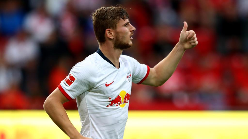 Timo Werner bleibt bei RB Leipzig
