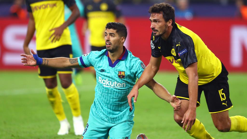 Luis Suárez und Mats Hummels tauschten die Trikots
