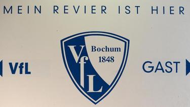 Auf dem Logo des VfL Bochum ist das Gründungsjahr des Vereins klar zu erkennen