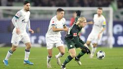 Der FC Schalke 04 und der VfL Wolfsburg trennen sich 1:1