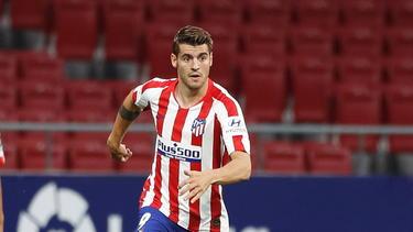 Morata abandona la disciplina del Atlético.