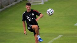 Benjamin Pavard beim FC Bayern wieder im Team-Training