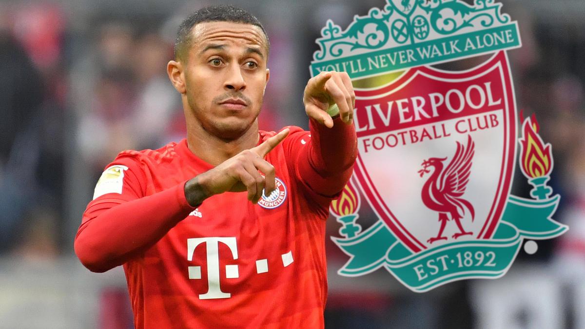 Thiago verlässt den FC Bayern und wechselt zum FC Liverpool