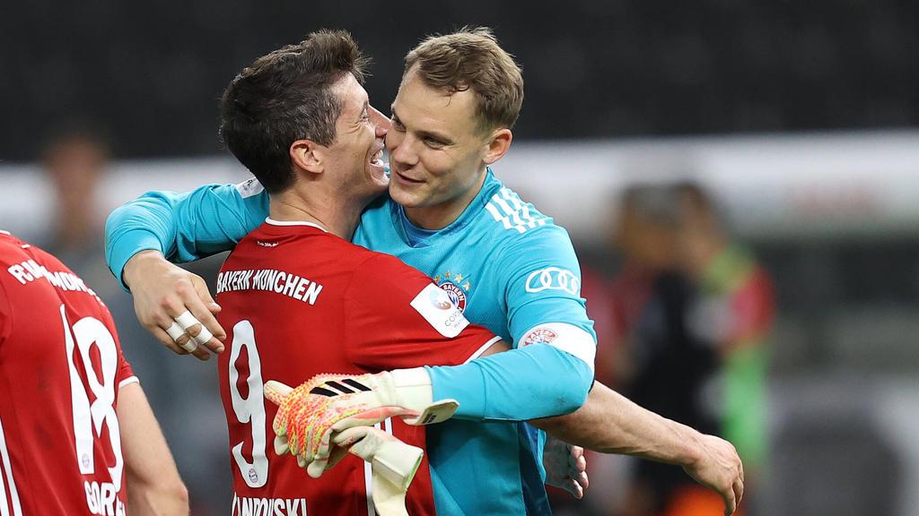 Robert Lewandowski und Manuel Neuer wurden als Europas Fußballer des Jahres nominiert