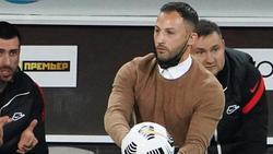 Spartaks Trainer Domenico Tedesco