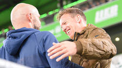 Lockt Julian Nagelsmann (r.) Alfred Schreuder zum FC Bayern?
