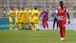 Die Kickers aus Würzburg steigen in die 3. Liga ab