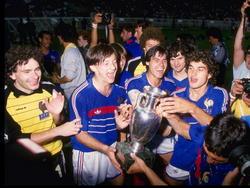 EM 1984: Frankreich feiert