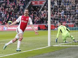 Unaufhaltsam: Arkadiusz Milik trifft für Ajax in Serie.