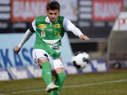Emanuel Sakic im Trikot vom SC Austria Lustenau