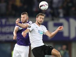 FK Austria Wien gegen Viktoria Plzen